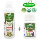 Set Jus Senna + Capsule - Detox Slimming Juice